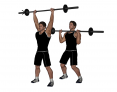 Standing Barbell Push Press