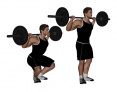 High Bar Back Squat with Closed Stance