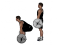 Barbell Complete Deadlift with Medium Grip