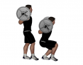 Barbell Offloaded Squat