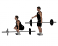 Barbell One Arm Deadlift