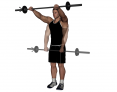 Barbell Standing Front Raise