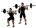 Barbell Quarter Squat