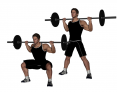 High-Bar Back Squat with Wide-Stance
