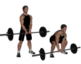 Barbell Wide Stance Deadlift with Narrow Grip