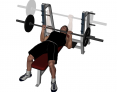 Barbell Bench Press (narrow grip)