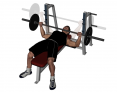 Barbell Bench Press (wide grip)