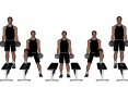 Dumbbell Standing Lateral Step-Up