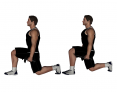 Dumbbell Low Lunge Walk