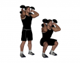 Dumbbell Front Squat