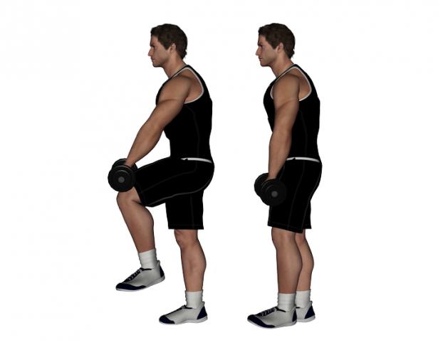 tight hip flexors vertical