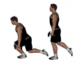 Dumbbell One Leg Squat