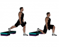 Dumbbell Split Squat with Elevated Back Foot