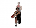 Medicine Ball Forward Lunge and Rotation