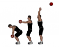 Medicine Ball Overhead Reverse Throw