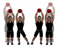 Medicine Ball Side Step and Jump