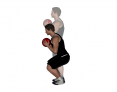 Medicine Ball Front Squat
