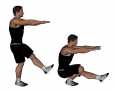 Standing Body-weight Pistol Squat