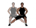 Side to Side Lateral Lunge