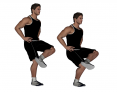 Single Leg Crossover Squat
