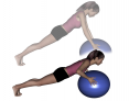 Stability Ball Intermediate Pushup