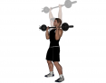 Standing Barbell Military Press