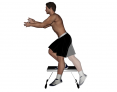 Static Elevated Single Leg Squat with Opposite Leg Swing