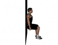 Static Wall Squat