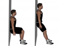 Wall Slide to Squat